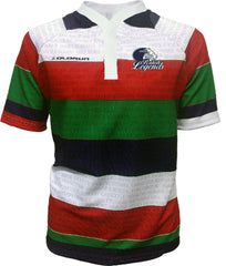 Olorun British Isles Legends Away Sublimated Rugby Shirt