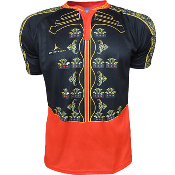 Olorun 'Spanish Bullfighter' Novelty Rugby Shirt