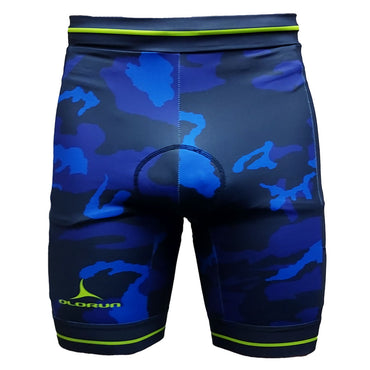 Blue Camo/Lime Triathlon Shorts (Fast Delivery)