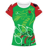 Canicross Cymru Ladies Sublimated T-Shirt