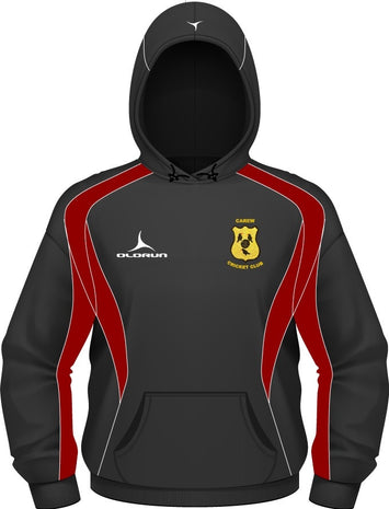 Carew CC Adult's Iconic Hoodie Black/Red/White