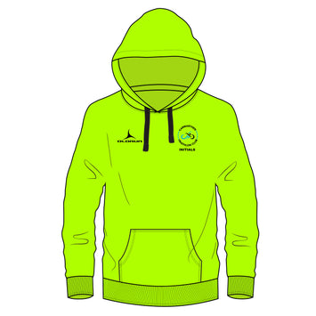 CTC Adults Sports Polyester Hoodie - Electric Green