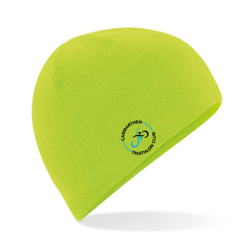 CTC Pull On Beanie Hat - Electric Lime