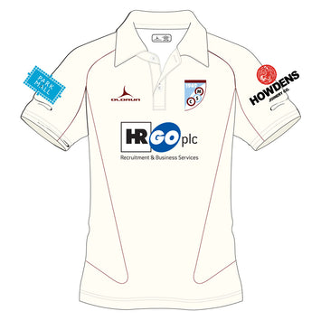 Mersham Sports Club Kid's Cricket Short Sleeve Polo Shirt