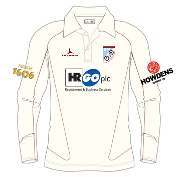 Mersham Sports Club Adult's Cricket Long Sleeve Polo Shirt