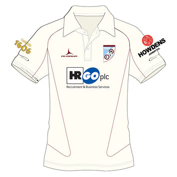 Mersham Sports Club Adult's Cricket Short Sleeve Polo Shirt