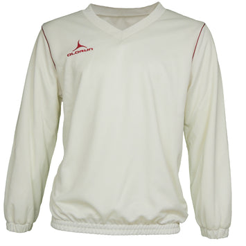 Olorun Men's Cricket Jumper Red