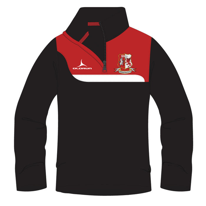 Cwmafan RFC Kid's Tempo 1/4 Zip Midlayer
