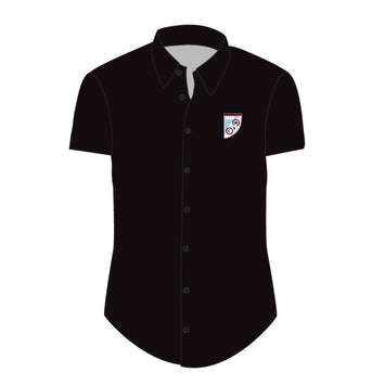 Mersham Sports Club Adult's Dress Shirt - Black