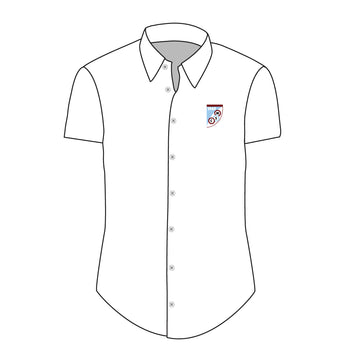 Mersham Sports Club Adult's Dress Shirt - White