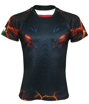 Dark Dragon Kids' Rugby Shirt - The Fire Within