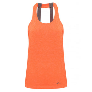 Olorun Activ Double Strap Vest - Lightning Orange Melange
