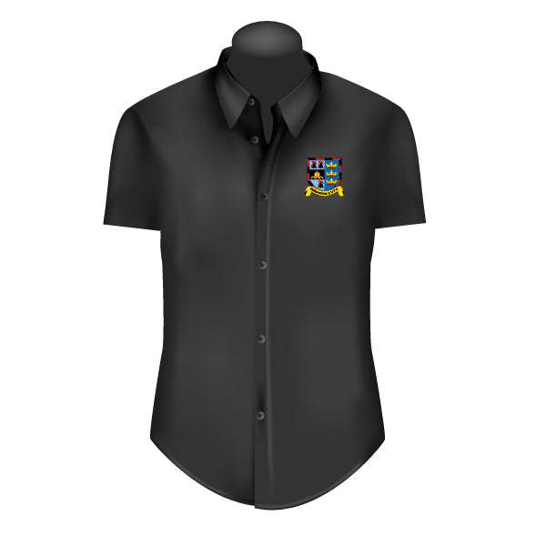 Hullensians RUFC Adult's Dress Shirt Black