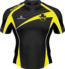 Dresden Hillbillies Exofit Kid's Rugby Playing Shirt Yellow/Black Fast Delivery