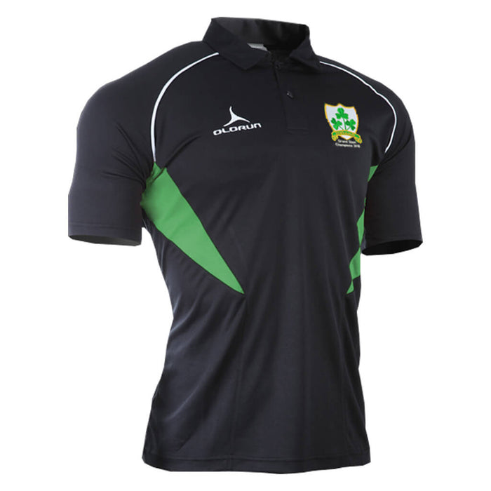 Olorun Grand Slam Champions 2018 Commemorative Ireland Rugby Polo Shirt