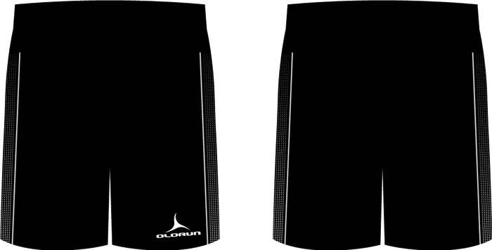 Olorun Matrix Football Shorts