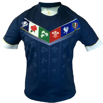 Olorun VI Nations Sublimated Rugby Shirt (Fast Delivery)