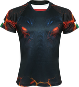 Dark Dragon Rugby Shirt - The Fire Within