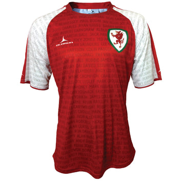 Olorun Wales Football Legends Shirt