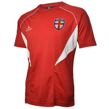 Olorun Flux England Football T-Shirt - Red/White
