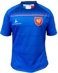 Olorun Six Nations Sublimated France Rugby Shirt (Fast Delivery)