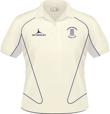 Haverfordwest CC Adult's Short Sleeve Cricket Polo Slider