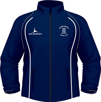 Haverfordwest CC Adult's Soft Shell Jacket Navy/White