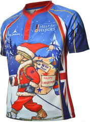 Help for Heroes Olorun Christmas Rugby Shirt