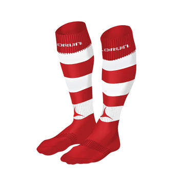 Milford Haven RFC Hooped Rugby Socks