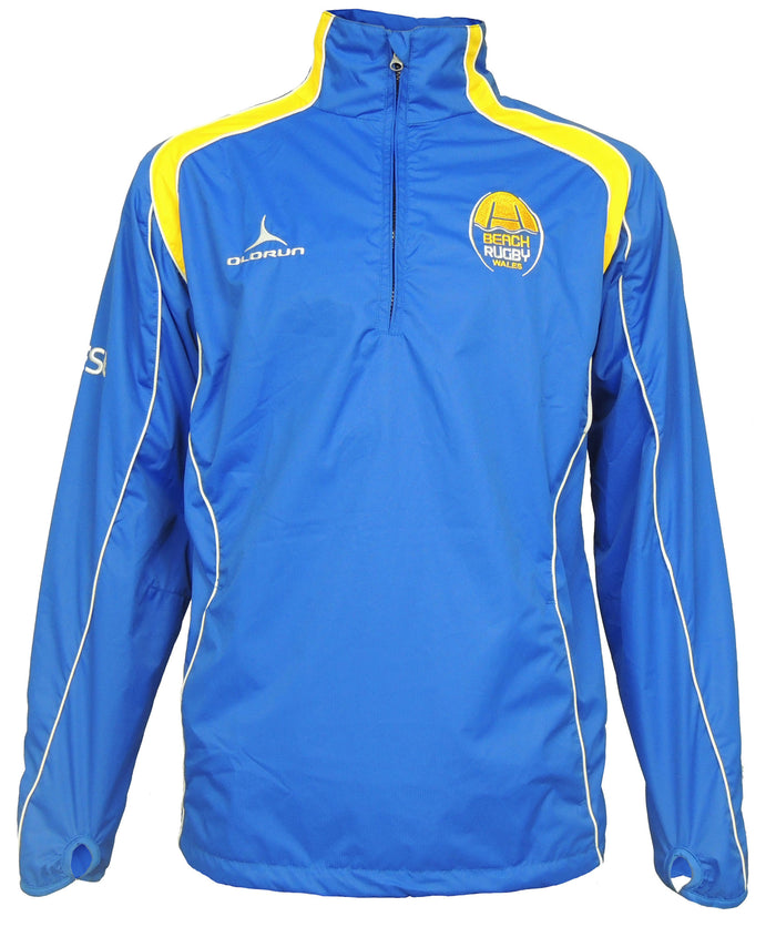 Beach Rugby Wales Iconic Quarter Zip Jacket