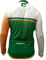 Olorun Ireland Full Zip Long Sleeve Cycling Jersey (Fast Delivery)