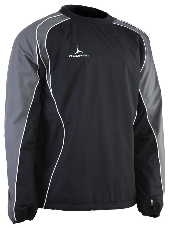 Olorun Kid's Iconic Training Top - Black/Grey/White