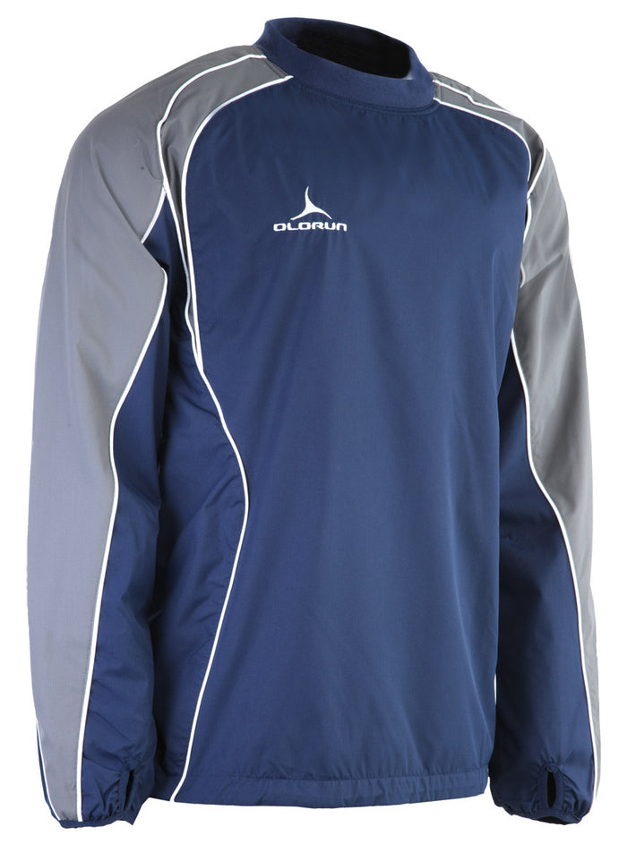 Olorun Adult's Iconic Training Top - Navy/Grey/White