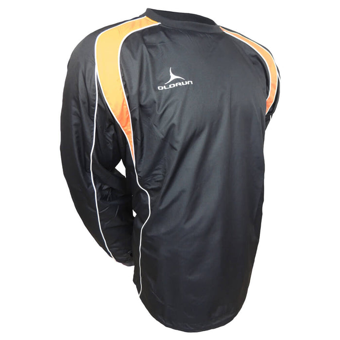 Olorun Adult's Iconic Training Top - Black/Amber/White