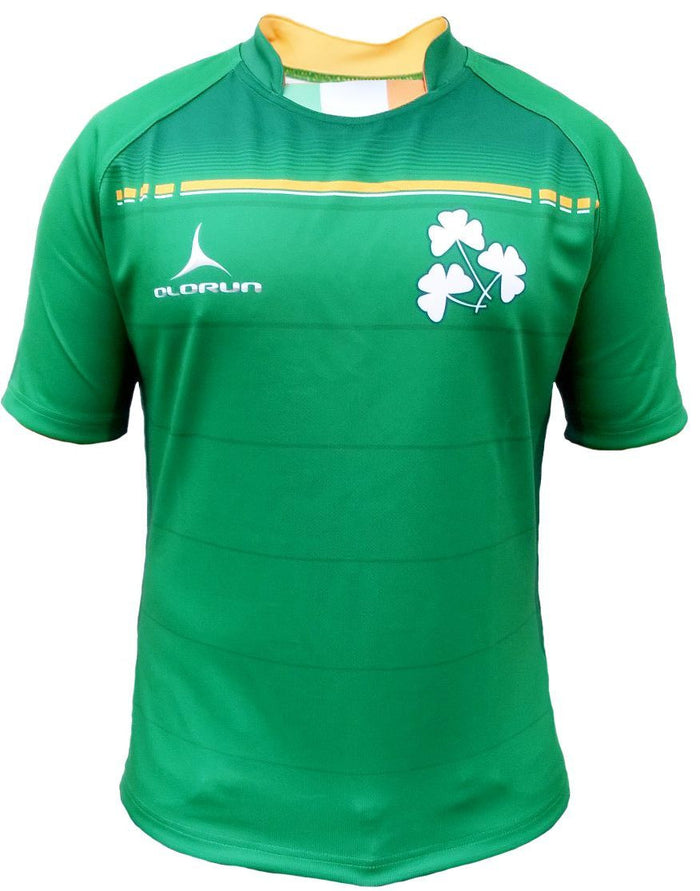 Olorun Sublimated Ireland Rugby Shirt (Fast Delivery)