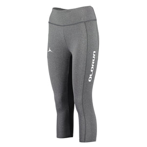 Olorun Activ 3/4 Leggings - Grey Melange