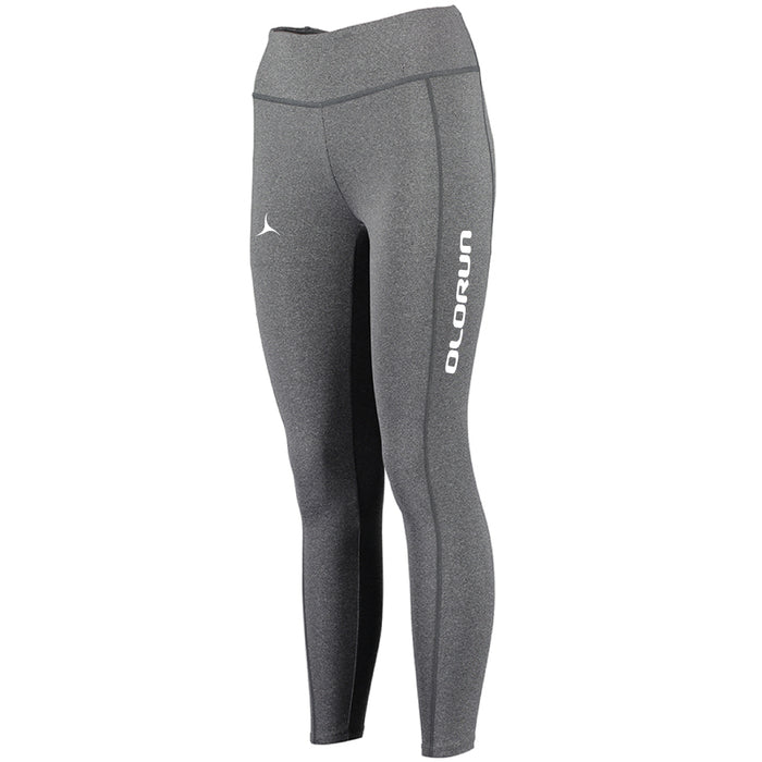 Olorun Activ Full Leg Leggings - Grey Melange