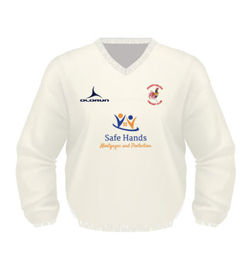 Croesyceiliog CC Kid's Olorun Long Sleeve Cricket Jumper