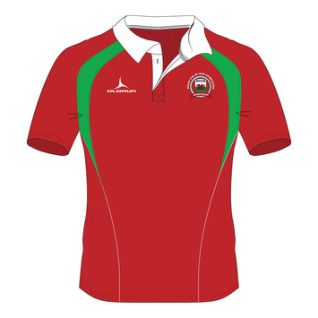 Wales Tug of War Association Pulse Short Sleeve Rugby Shirt