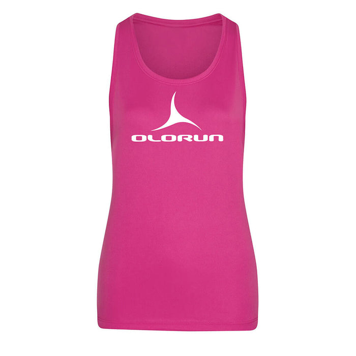 Olorun Activ Loose Fit Vest - Hot Pink