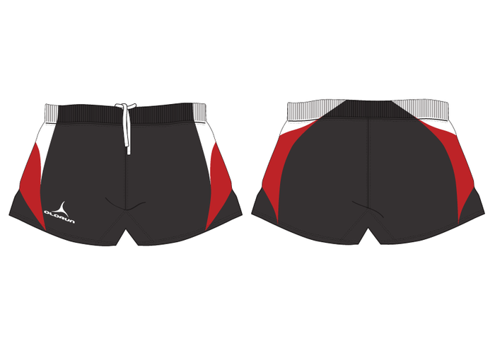 Olorun Iconic Rugby Playing Shorts