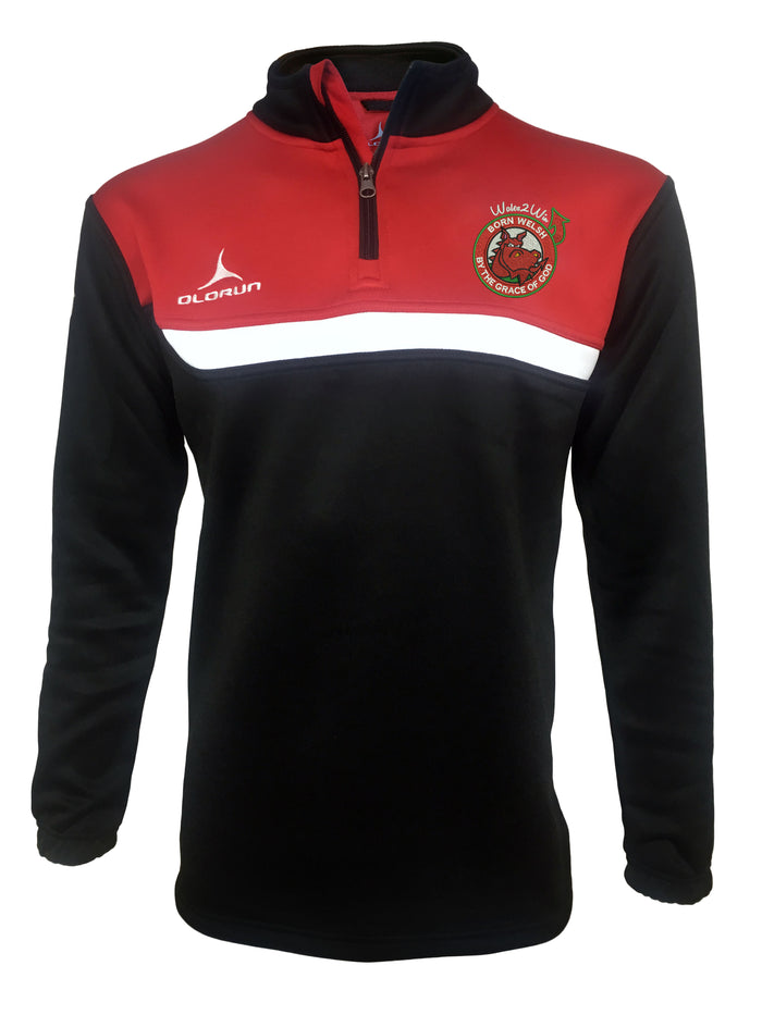 Olorun 'Wales 2 Win' Adult's Tempo Midlayer