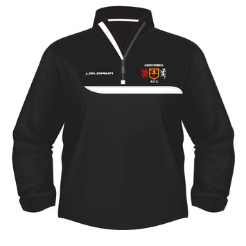 Abercwmboi RFC Kid's Tempo 1/4 Zip Midlayer