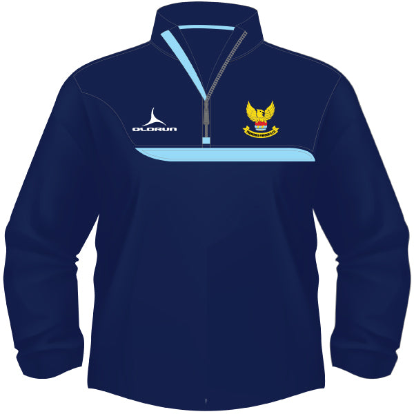 Treharris RFC Kid's Tempo 1/4 Zip Midlayer