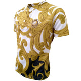 Olorun Milan Mozzafiato Sublimated Rugby Shirt - White/Gold