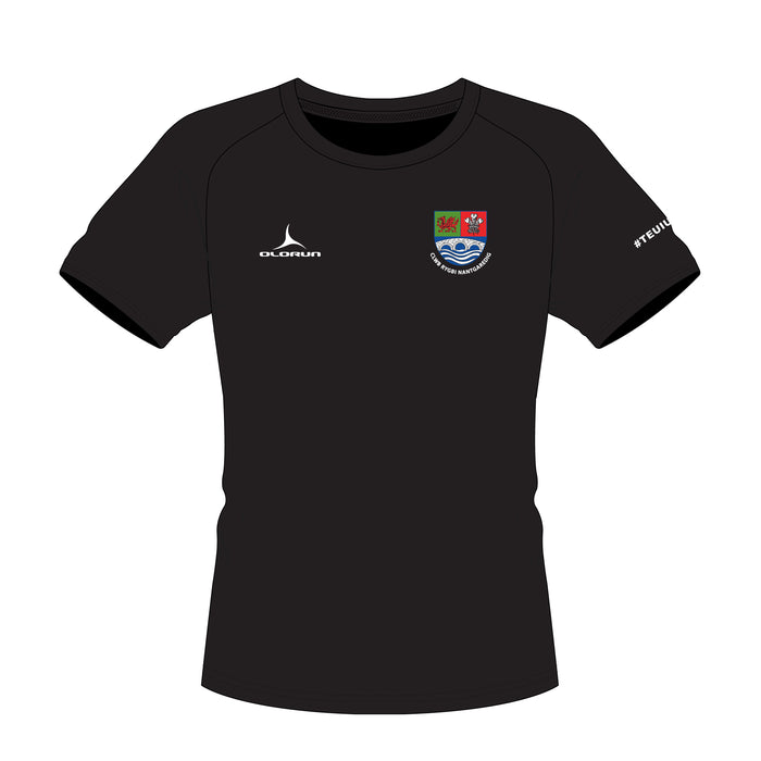 Nantgaredig RFC Kid's Sports T-Shirt - Black