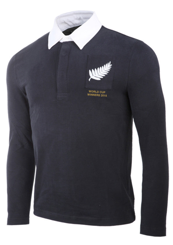 Olorun New Zealand World Cup Winners Commemorative Retro Rugby Shirt