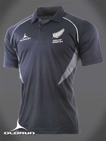 Olorun World Cup Winners Commemorative New Zealand Rugby Polo Shirt