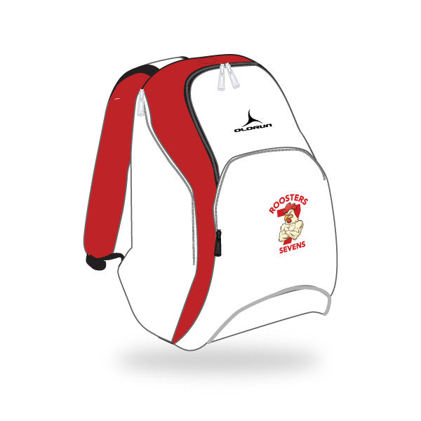 Roosters 7's Nations Bag - White/Red