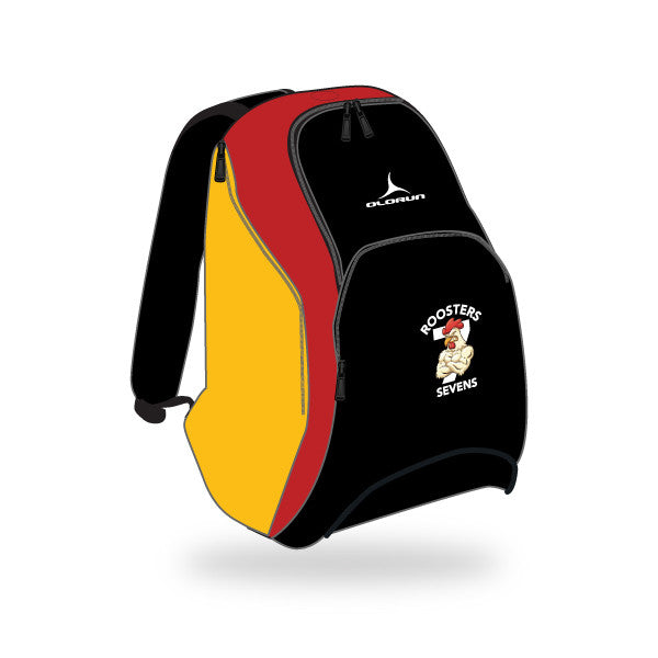 Roosters 7's Nations Bag - Black/Red/Yellow